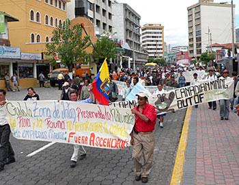 Quito March